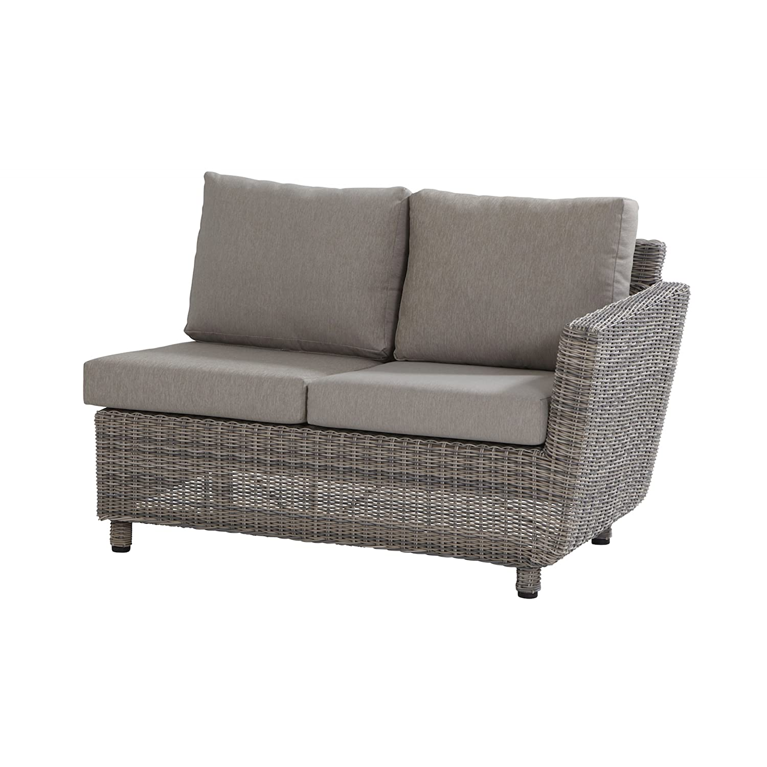 Aqua-Saar Dining Sofa 2 Sitzer Mailand Armlehne links Roca AS36798 bestellen