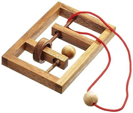 philos 6107 verflixter rahmen seilpuzzle knobelspiel. Black Bedroom Furniture Sets. Home Design Ideas