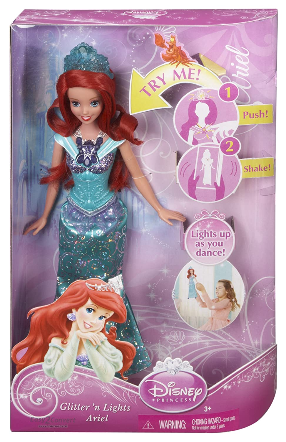 Disney Princess Glittering Lights Ariel Doll is only $6.07 at Amazon (reg $21.99)
