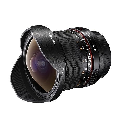 Walimex Pro 12mm f / 2,8 Fisheye pour Samsung NX DSLR  noir