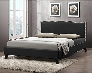 Upholstered Headboard Modern Bed