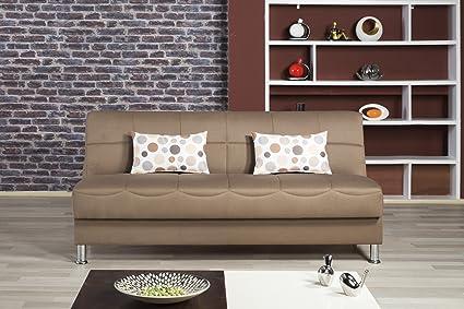 Eco Plus Sofa Bed   Prusa Brown