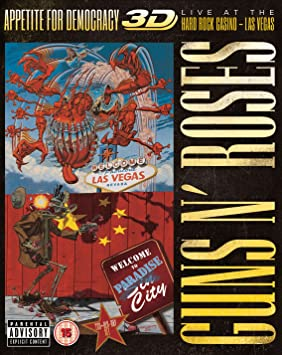 Appetite For Democracy: Live At The Hard Rock Casino - Las Vegas (Ltd. BluRay+2CD-Boxset)