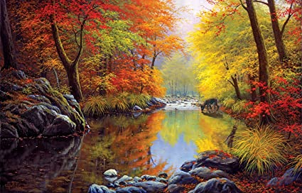 Autumn Sanctuary 1000 Piece Jigsaw Puzzle
