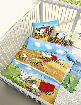 baby biber bettw sche erntezeit in bunt 100x135 40x60 cm k che haushalt wtjcuvb. Black Bedroom Furniture Sets. Home Design Ideas