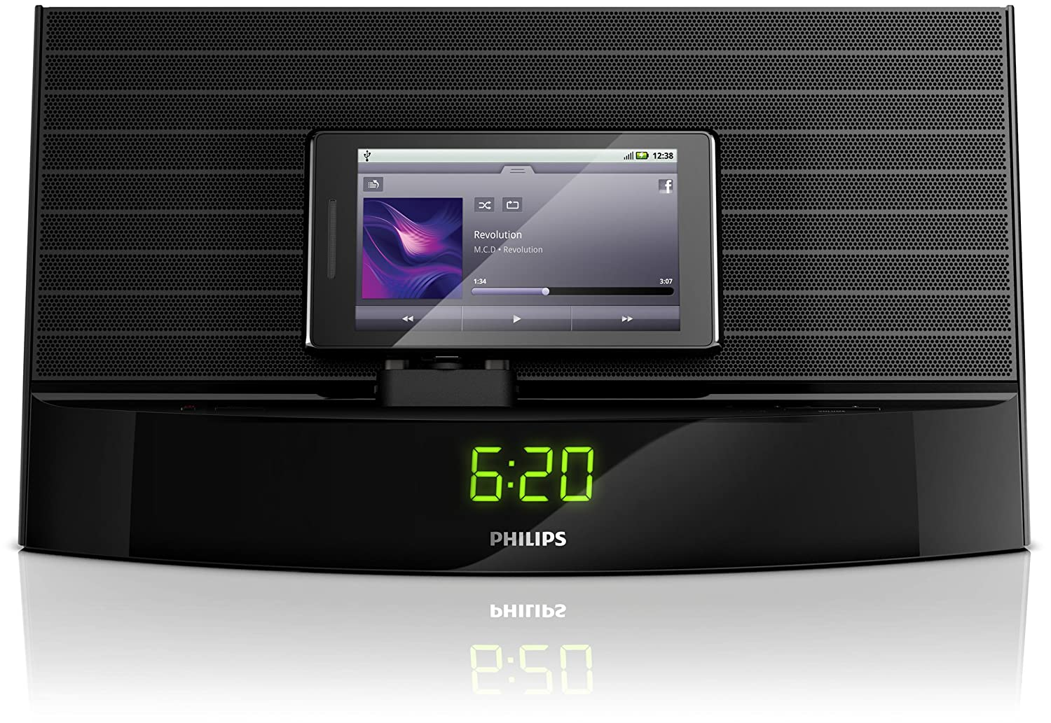 Philips AS140/37 Fidelio Bluetooth Speaker with Micro-USB Dock $57.41