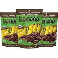 3-Pack Barnana Organic Chewy 3.5 Ounce Banana Bites (Chocolate)