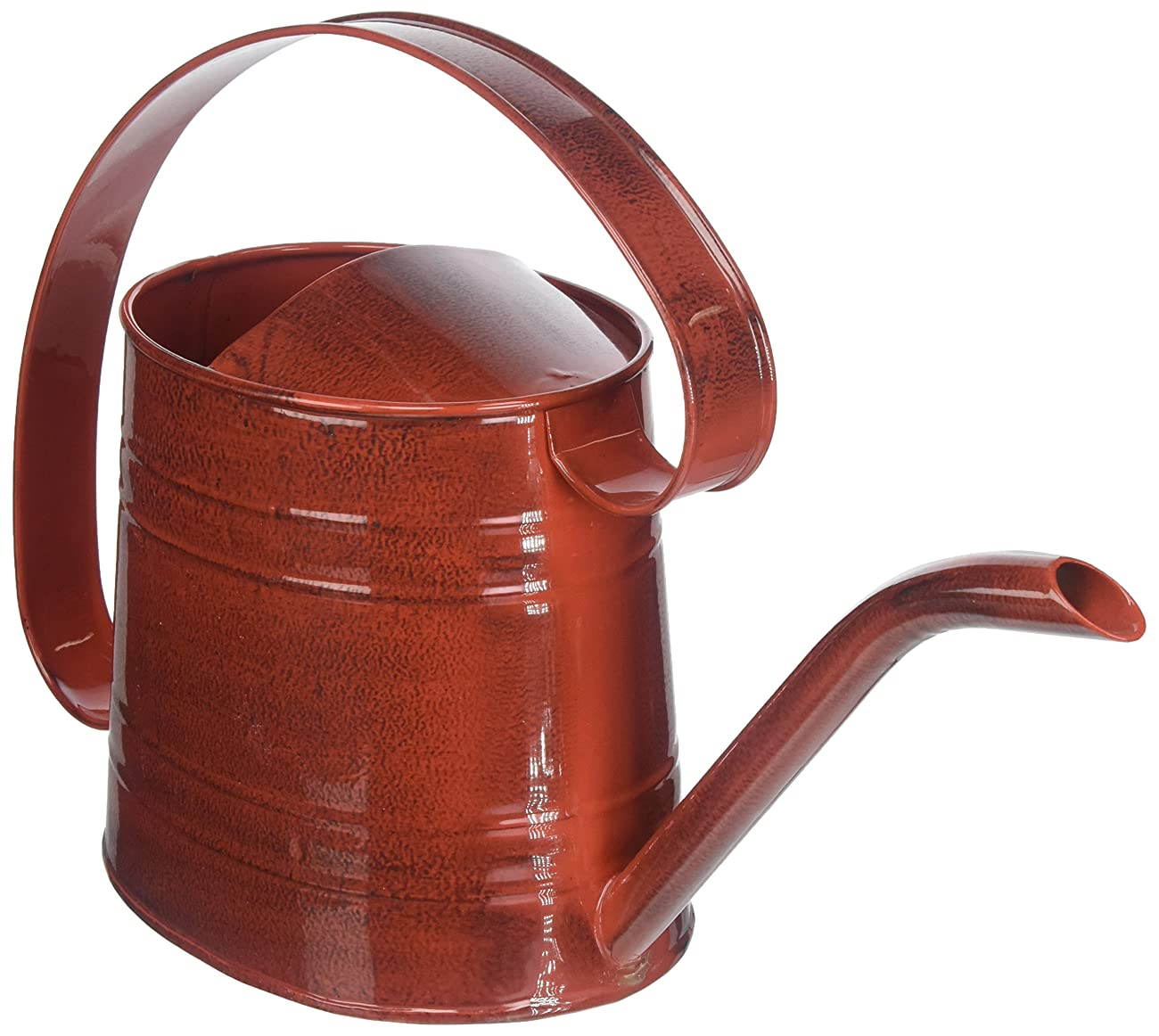ROBERT ALLEN MPT01507 Danbury Metal Watering Can, Cayenne Red 0