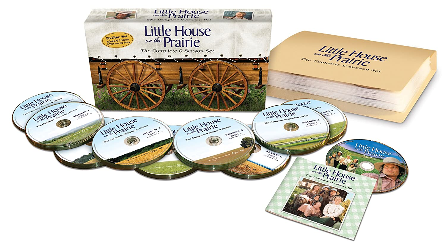 Little House on the Prairie: The Complete Nine-Season Set (Complete Series + Pilot Episode) $86.99