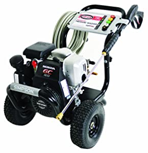 SIMPSON MSH3125-S 3100 PSI @ 2.5 GPM Gas Pressure Washer