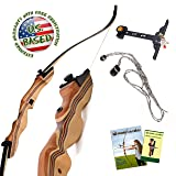 KESHES Takedown Recurve Bow and Arrow - 62