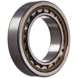 SKF NU 1009 ECP Cylindrical Roller Bearing, Single Row, Removable Inner Ring, Straight Bore, High Capacity, Normal Clearance, Polyamide/Nylon Cage, Metric, 45mm Bore, 75mm OD, 16mm Width