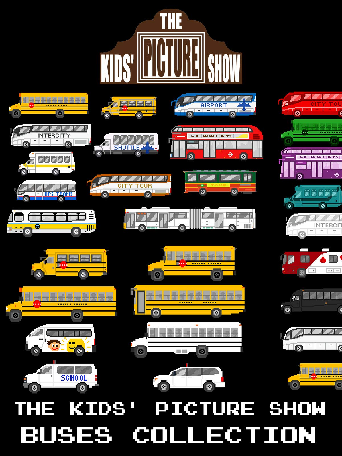 The Kids' Picture Show - Buses Collection