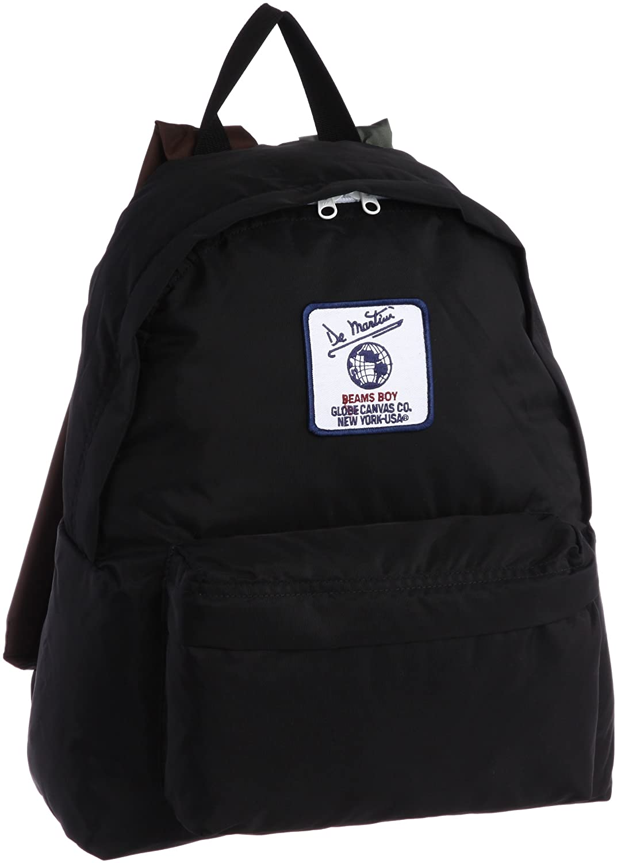 Amazon.co.jp: [ビームスボーイ] BEAMS BOY DeMartini×BEAMS BOY / 3カラー デイパック 13610171332 19 (BLACK/ONE SIZE): シューズ&バッグ:通販