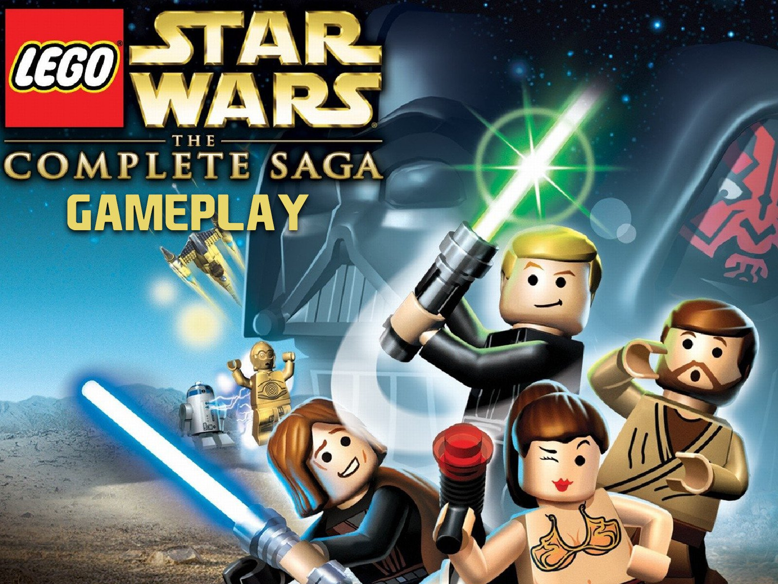 Clip: Lego Star Wars Complete Saga Gameplay - Season 1