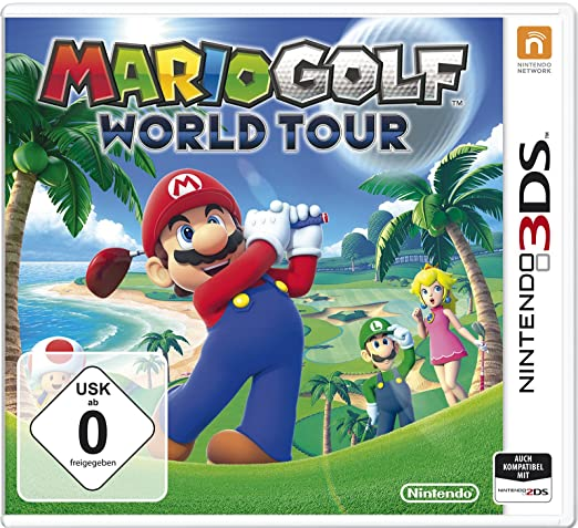 Mario Golf - World Tour, 3DS