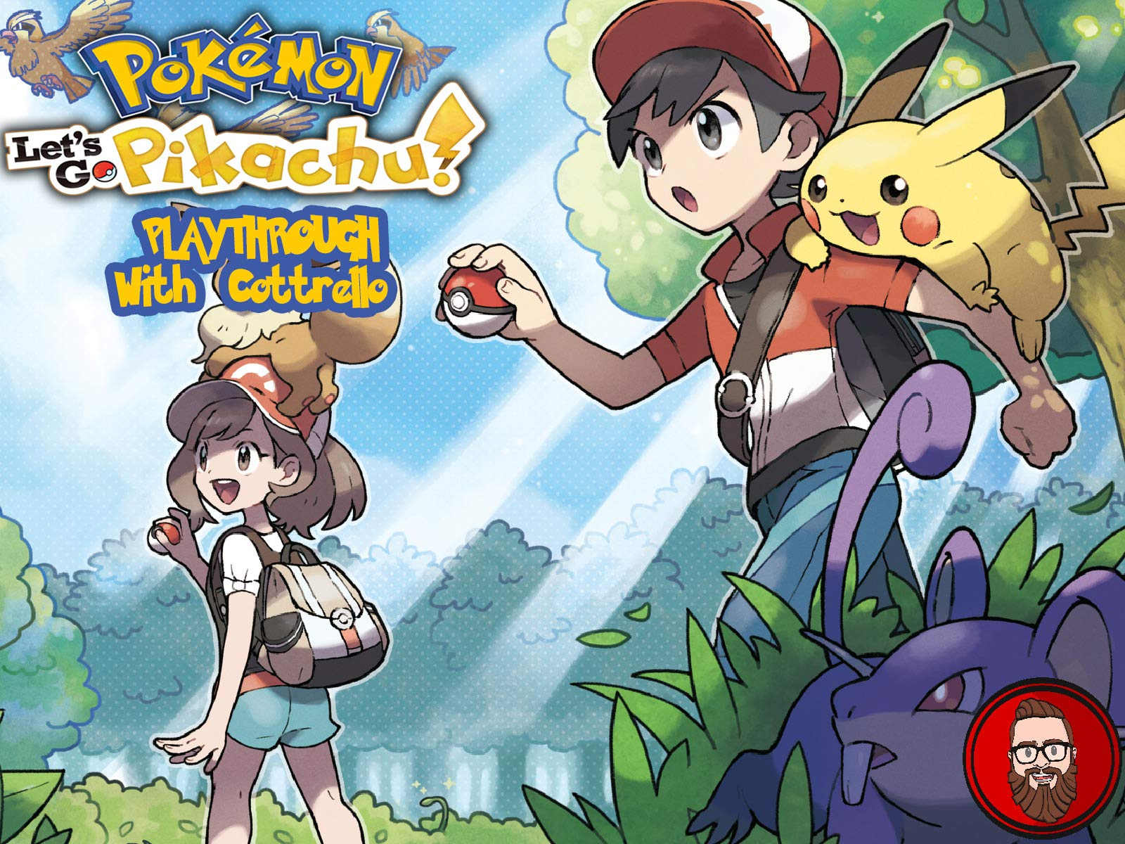 Watch Pokemon Let S Go Pikachu Playthrough With Cottrello On