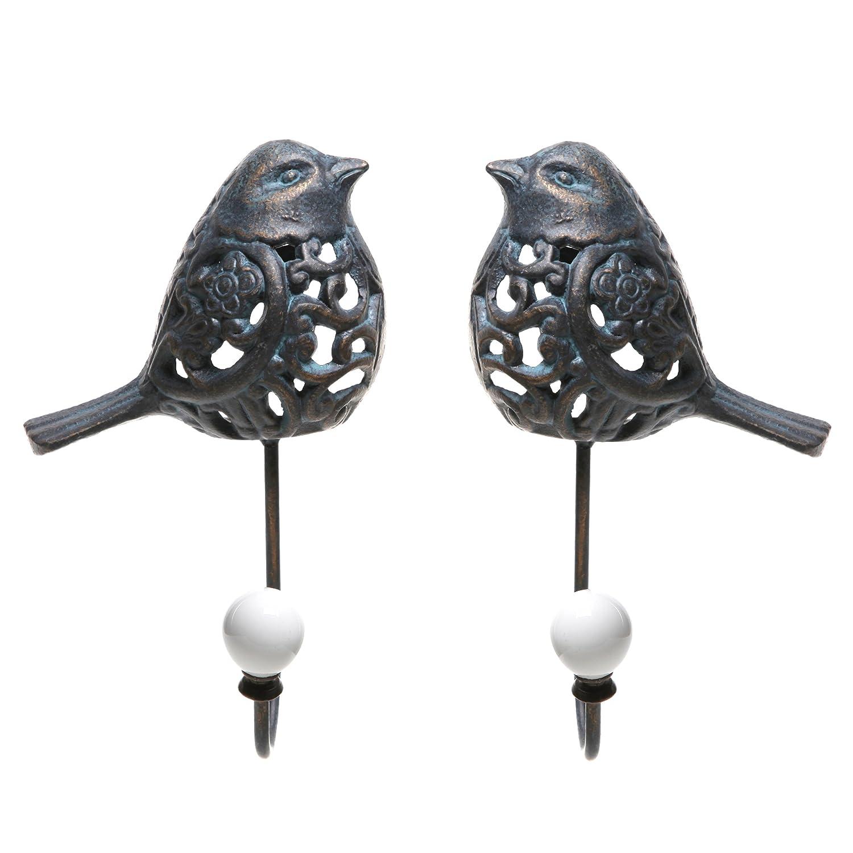 Beautiful Bird Wall Hooks Key Rack Holders Decorative