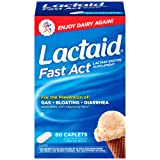 Lactaid Fast Act Lactose Intolerance Relief Pills, 60 single-dose pouches