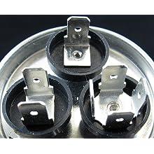 Aviditi 36AVI Capacitor, 50/7.5 Microfarad, 370-Volt