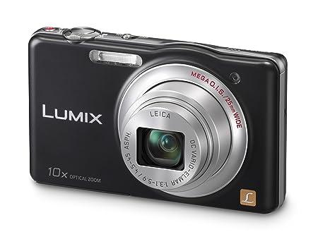 """Panasonic Lumix DMC-SZ1EG-K Appareil photo numérique 16 mégapixels, zoom optique 10 x, écran 7 cm (2,9""""), stabilisateur d'image (Noir) (Import Allemagne)"""