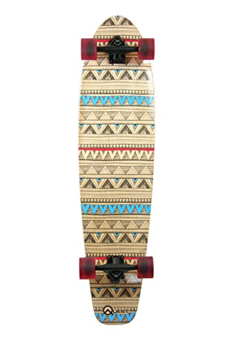 Quest Native Spirit Kick-Tail Longboard Skateboard