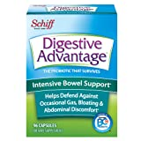 Digestive Advantage Intensive Bowel Support - Probiotic that defends against gas & bloating, 96 Capsules (Color: Sss, Tamaño: 96 Count)