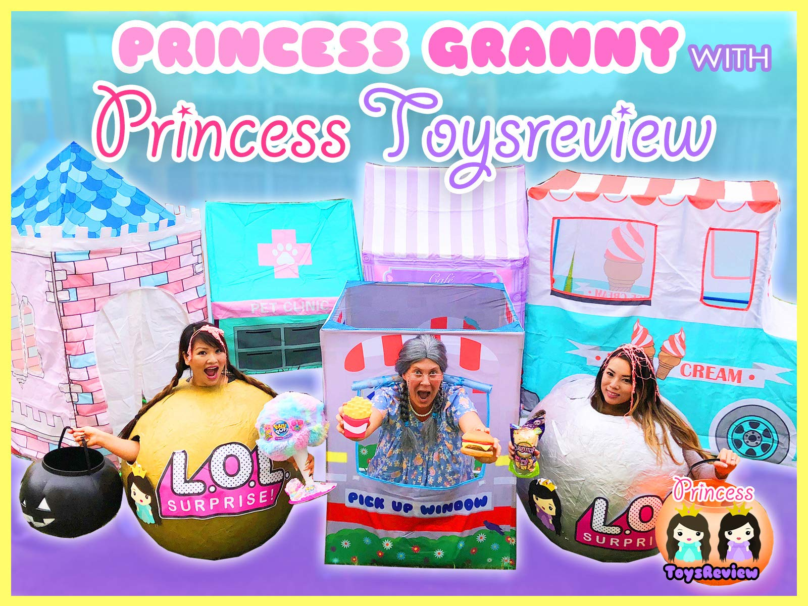 Clip: Princess Granny with Princess Toys Review - Season 2