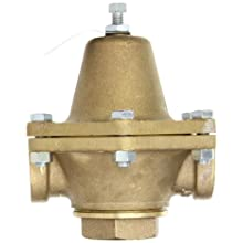 "Cash Valve 1874-0011 Bronze Pressure Regulator, 2 - 20 PSI Pressure Range, 3/4"" NPT Female"