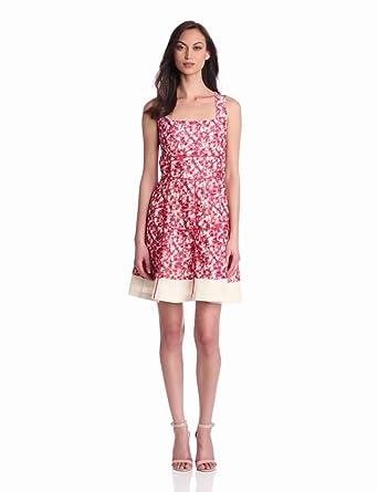 McGinn Women's Sissy Floral Dress, Bitter Sweet, 8