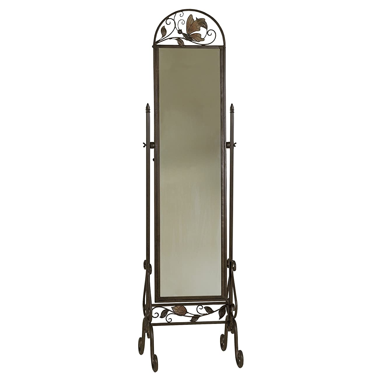 Metal Floor Standing Cheval Mirror 0