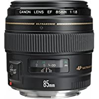 Canon EF 85mm f/1.8 USM Medium Telephoto Lens for Canon SLR Cameras - Refurbished