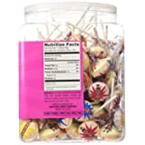 120 individually wrapped Smarties Pops (Color: pink)