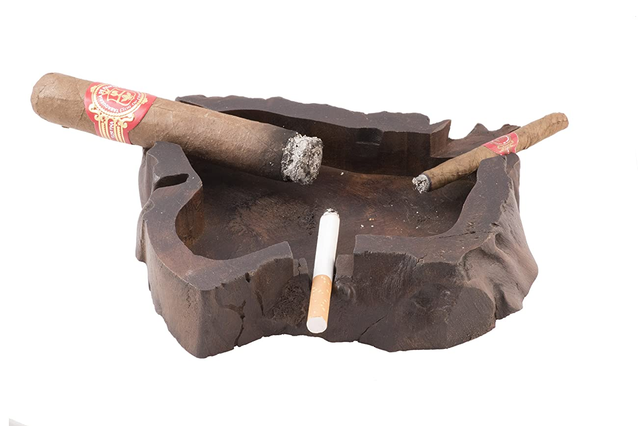 Unique Handmade Wooden Vintage Cuban Cigar Ashtray Personal Custom Antique Decorative Indoor Outdoor 2
