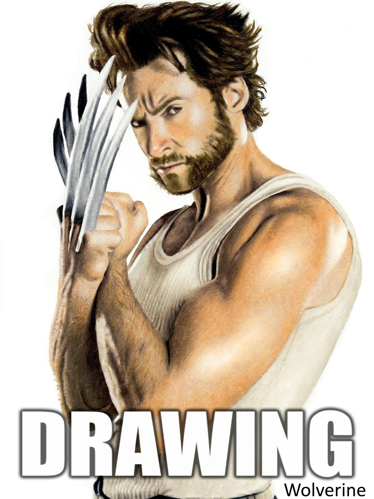 Clip: Time Lapse Drawing: Wolverine