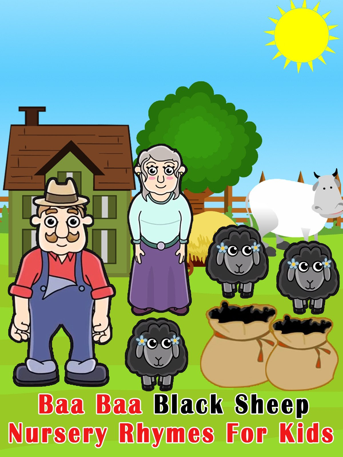 Baa Baa Black Sheep Kid Song