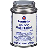 Permatex 80062-12PK High Tack Gasket Sealant, 4 oz. (Pack of 12) (Tamaño: Pack of 12)