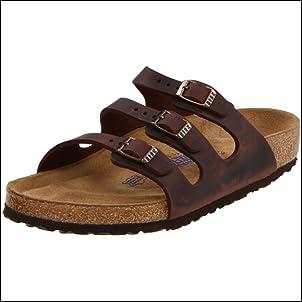 Birkenstock Womens Florida Soft Footbed Sandal