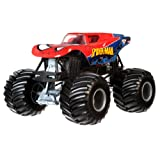 Hot Wheels Monster Jam 1:24 Die-Cast Spider-Man Vehicle