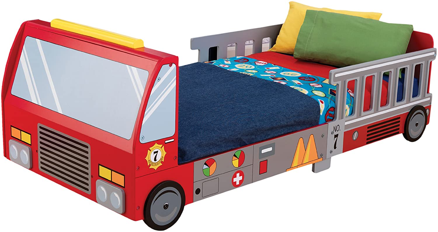 Firetruck bedroom decor archives groovy kids gear for Fire truck bedroom ideas