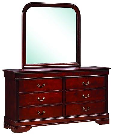 Glory Furniture G3100-D Bedroom Dresser, Cherry