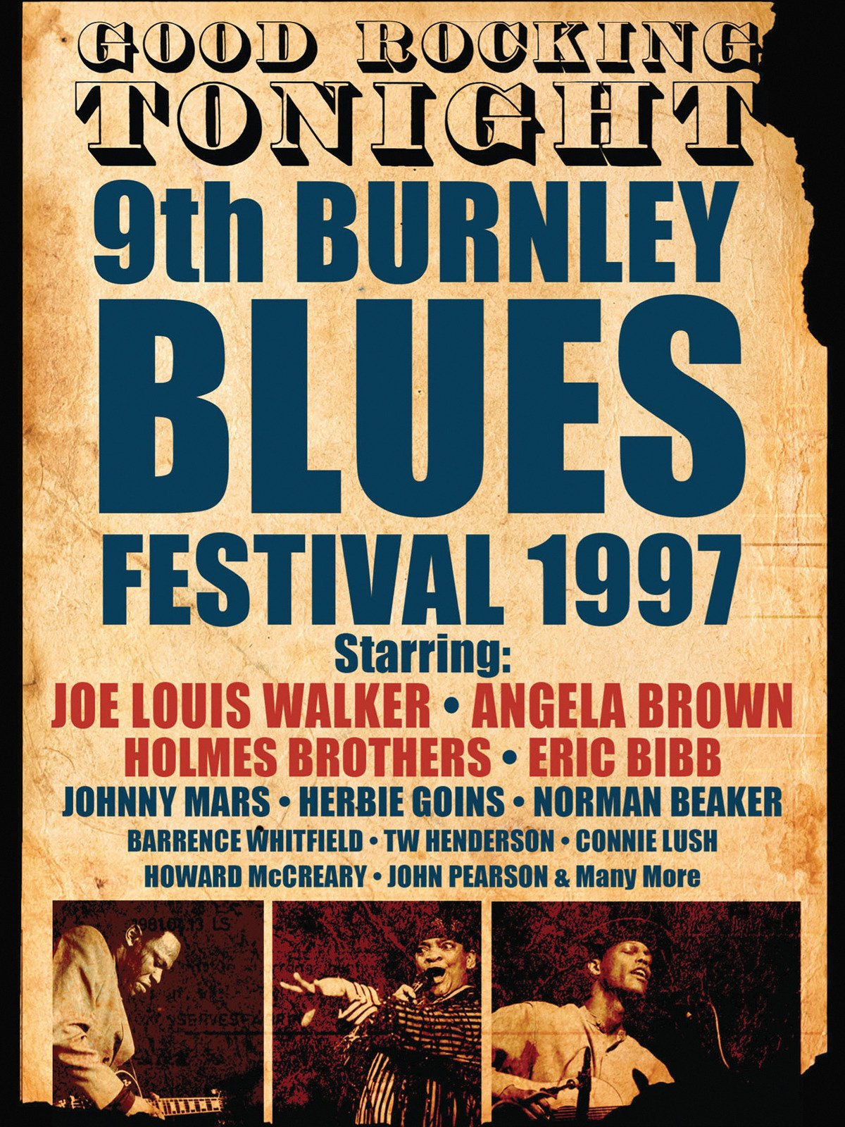 Burnley Blues Festival 1997