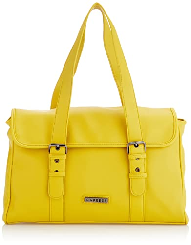 Caprese Heide Medium Satchel (Ocher)
