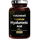 Maximum Strength Hyaluronic Acid Plus, 100mg,180 Capsules, Powerfully Supports Skin Hydration & Joints Lubrication. Non-GMO and Made in USA