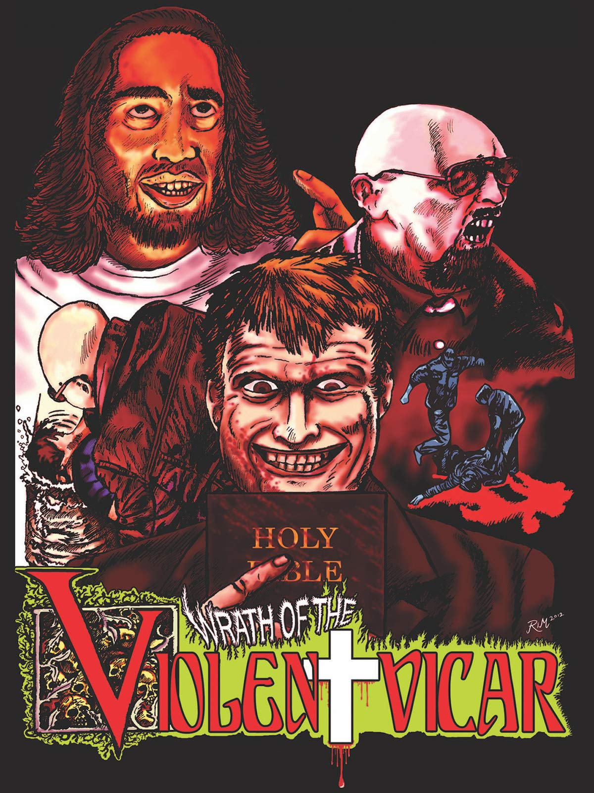 Wrath of the Violent Vicar on Amazon Prime Video UK