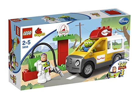 LEGO - 5658 - Jeux de construction - LEGO DUPLO toy story - Le camion de Pizza Planet