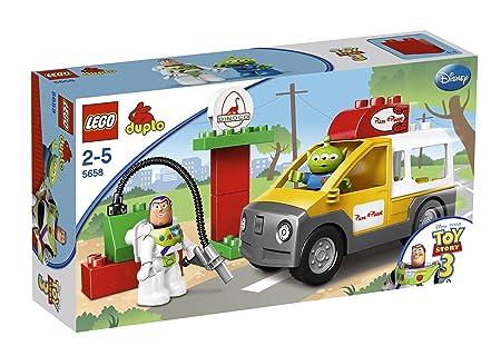 LEGO - 5658 - Jeux de construction - LEGO DUPLO toy story - Le camion de Pizza Planet