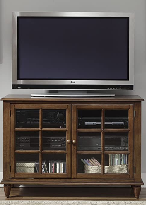 "Low Country Entertainment 46"" TV Stand Finish: Bronze"