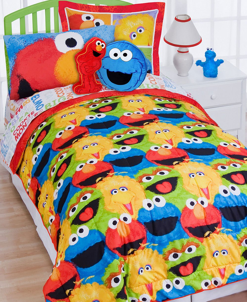 Elmo Sheets Twin Elmo Twin Bed-in-a-bag Set