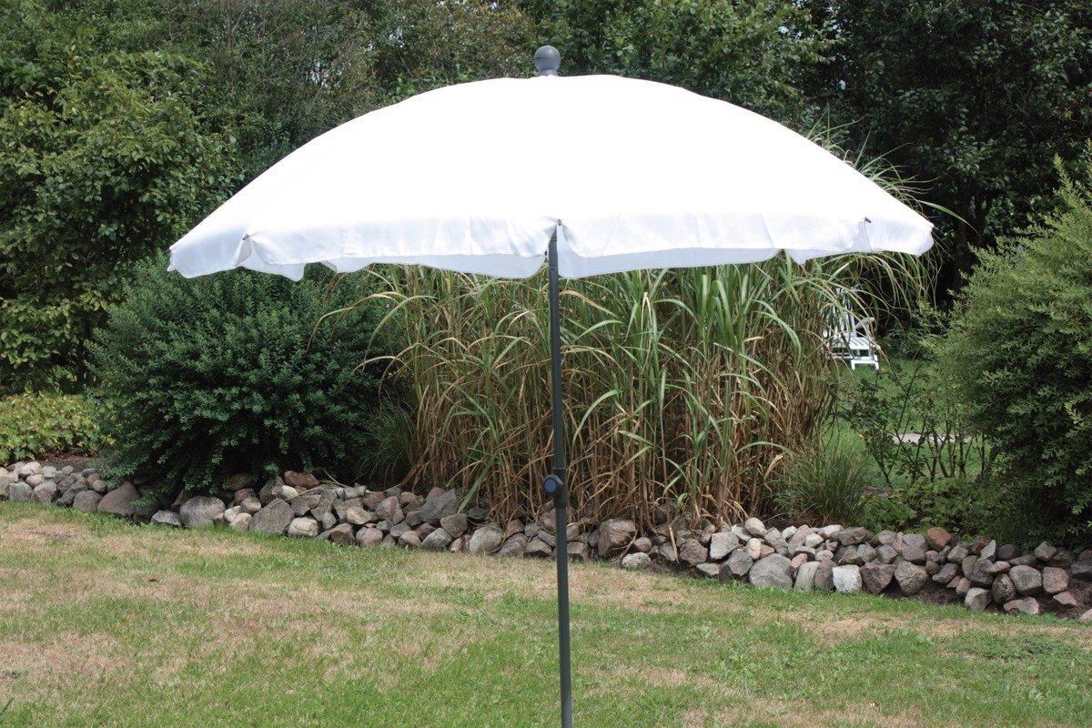 Schirm 200/8t.Poly natur Gest. w kaufen